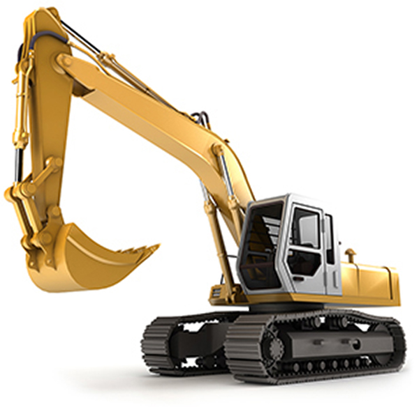 hydraulic excavating vehicle